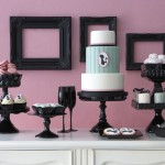sweet tables inspired by The Cake Parlour branding