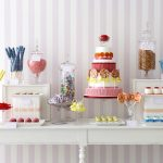 Sweet shop style dessert tables