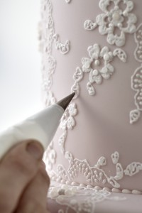 Cake Decorating classes -lace piping