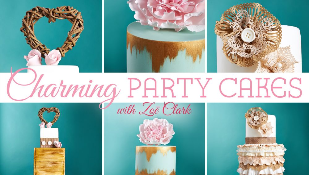 Craftsy online cake decorating tutorial with Zoe Clark