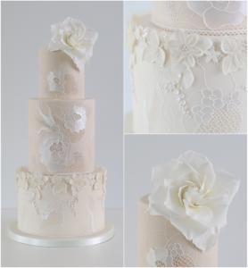 Gardenia Lace cake classes