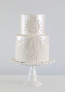 Lace cake decorating class