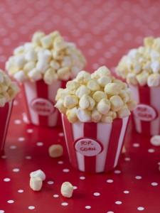 Popcorn mini cakes