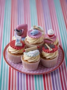 baking theme cupcakes