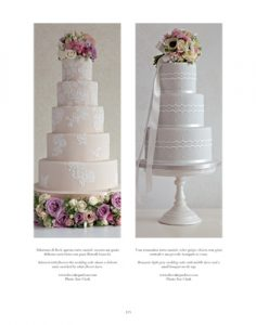 lace wedding cakes in vogue sops