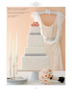 Lace Glamour cake in vogue sops