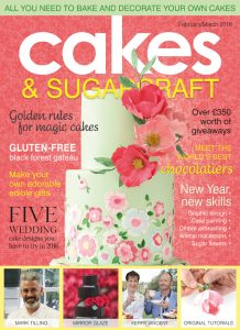 Cosmos Wedding Cakes in Squire's magazine