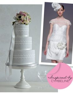 Cybelline wedding cake in vogue sposa