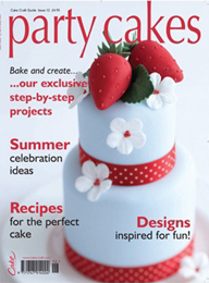Strawberry mini cake in Party cakes Magazine
