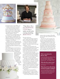Wedding cakes sunshine coast profile magazine