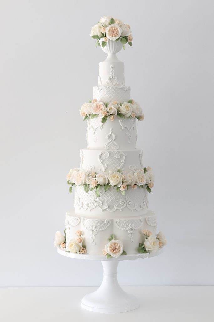 Regal Roses Wedding Cakes Brisbane