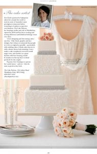 Lace Glamour cake in Resident's Journal