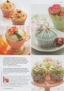 cupcake book feature in Wedding