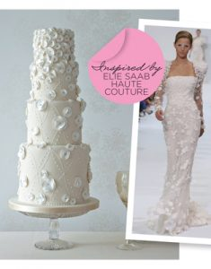 Ellie Saab cake in YYW