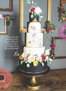 Rococo Wedding cake in YYW 2016