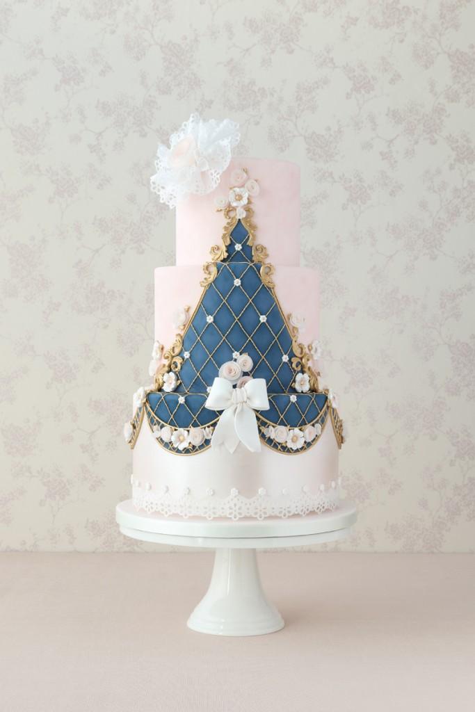 Rococo wedding cakes