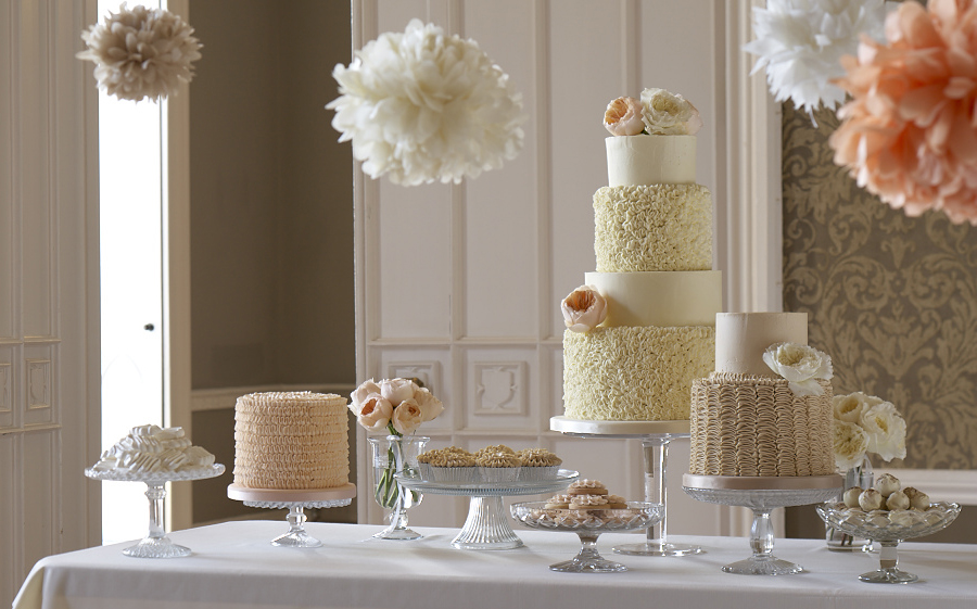 Contact us about our wedding cakes and dessert tables