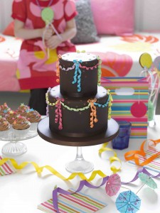 Retro party cake