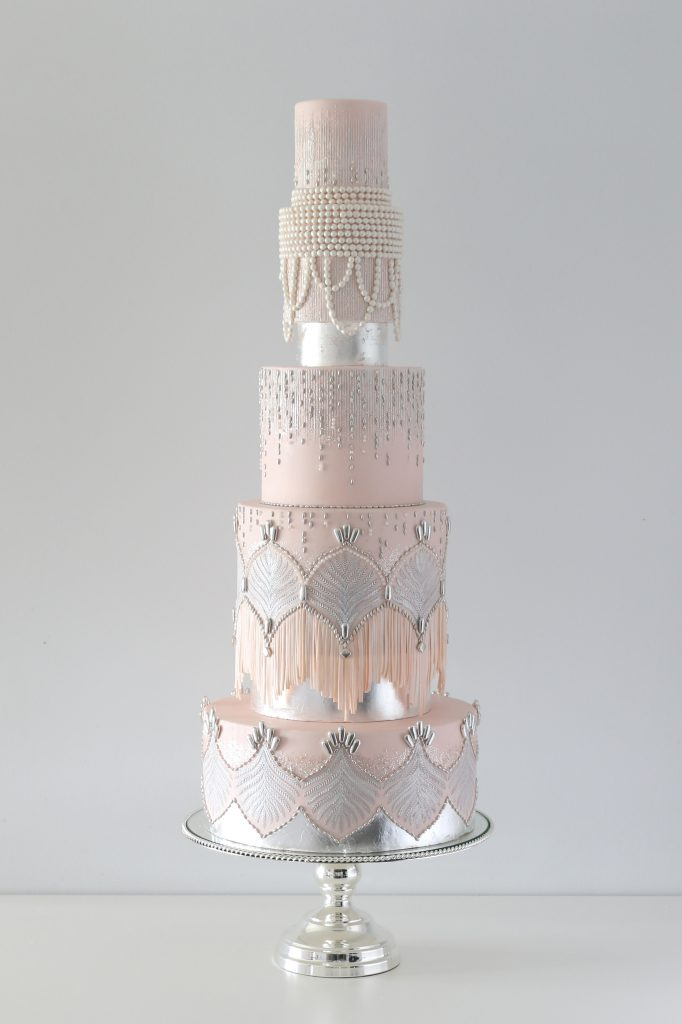Gatsby Wedding Cake