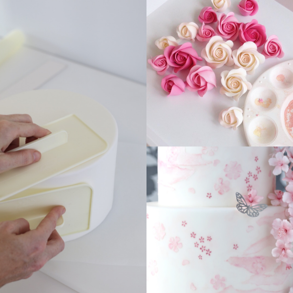 Cake Decorating Class -fondant cakes