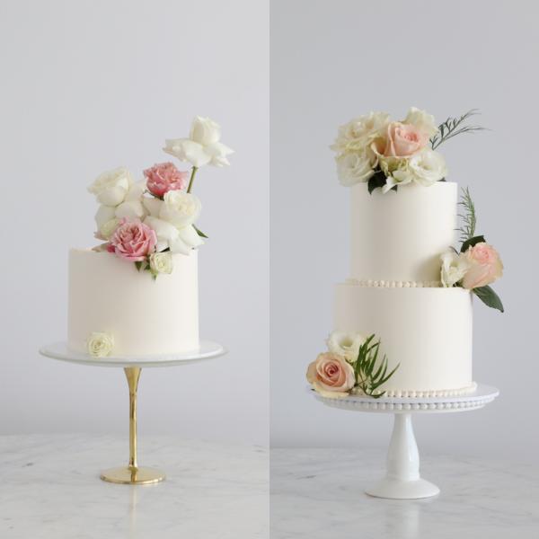 Plain Buttercream Cake