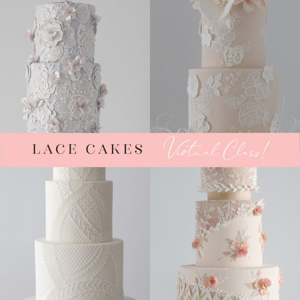 Virtual Lace Cakes Online Class